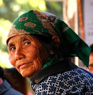 Jan 08, 2014 - Old Dai Woman